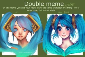 Double Meme by maryfraser
