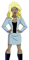 JLU: Black Canary -  Civies by Glee-chan