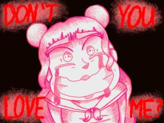 3DS Drawing 44 - Don't You Love Me? by pandaserules97