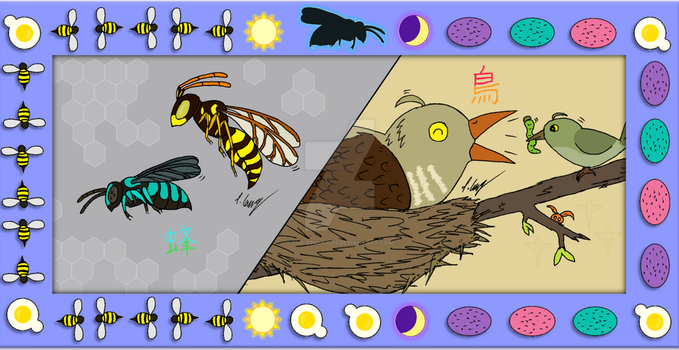 Impostor Story: Cuckoo Bees and Cuckoo Birds by The-Episiarch
