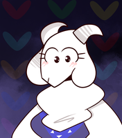 Toriel by Ithitoi