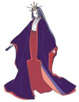 Heian lady daily gown by okayutaka