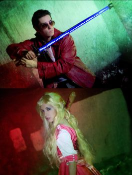 It's kill or be killed - No more heroes cosplay by Voldiesama