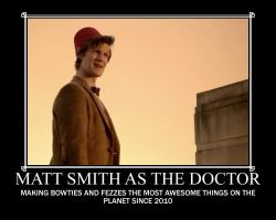 Matt Smith as The Doctor by Like-A-British-Guy