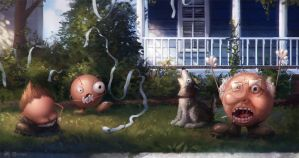 You Damn Kids Get Off My Lawn by Rahll