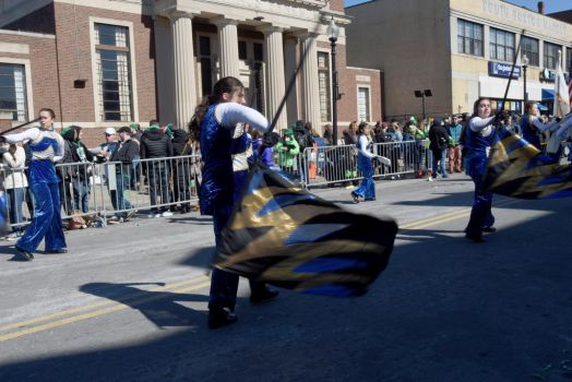 St. Patrick's Day Parade,Twirl and Wave the Flag 2 by Miss-Tbones
