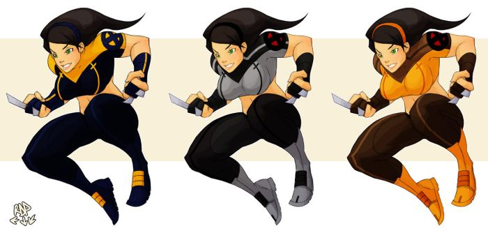 x23 color alts by samuraiblack