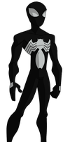 The Spectacular Spider-Man Original Black Suit by ValrahMortem