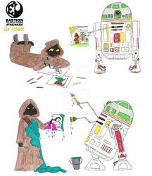 Drawing Star Wars by Kassis