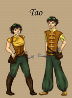 Skyship player: Tao by ObsidianPyre