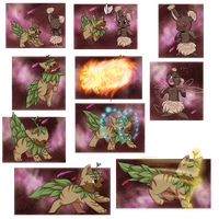 PKMNation   Payment   Chip and Fern by LunaStar52