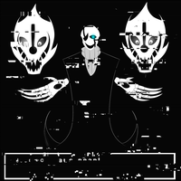 .: W.D.Gaster draws near! :. by Spythedragon