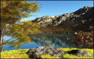 Autumn in the Mountains by jbjdesigns