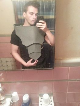 Garrus Vakarian Cosplay Progress by JakTheRipper13
