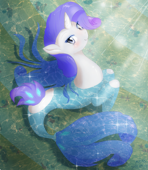 Rarity Seapony by fromamida