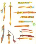 Tonalli: swords and scabbards by Soji-chan