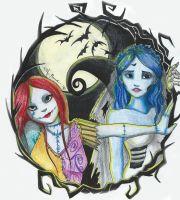 Rag Doll meets The Corpse Bride  by AnonymousCounterpart