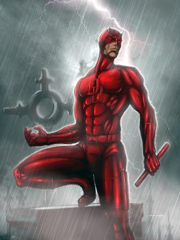 Daredevil: The Man Without Fear by dvnmyls