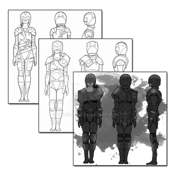 Armour progression by vulpinoid