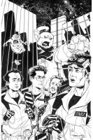 HEROESCON Ghostbusters INKS by thejeremydale
