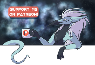 Support me on Patreon! by Moonlit-Comet
