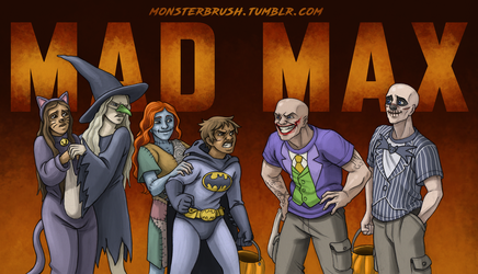 Mad Max Halloween by MonsterBrush