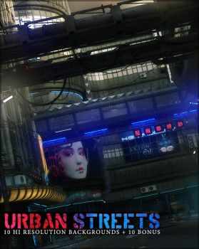 Urban Streets Backgrounds by cosmosue