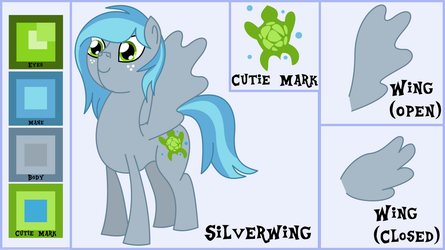 Silverwing Reference and Bio by OddishArt