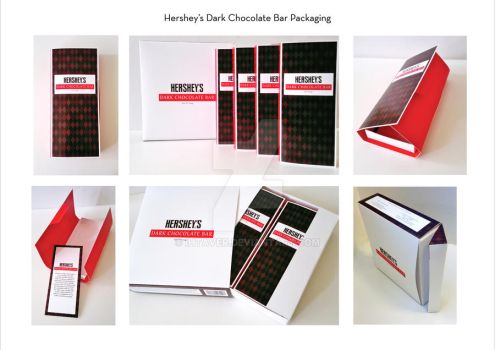 Hershey's Packaging by Ihtaver