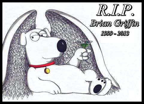 R.I.P. Brian Griffin. by MrsxSnake