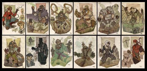 Spider-Man and Co Steampunk Re-Design - Gallery by DenisM79