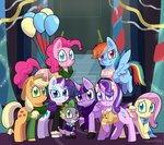 Merry Christmas from the Mane 8