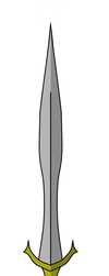 Daily drawing challenge 1 - Sword by kRx1203