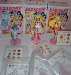 [SOLD] Sailor Moon Candy Figures Set of 3 by Naneia