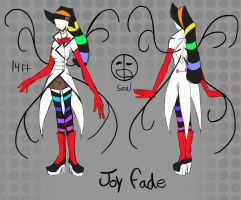 Slender OC- joy fade by AK-47x