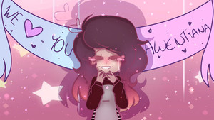positive vent | thank you + speedpaint by PastelAsriel