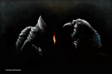 Dark Souls: Artorias and Faraam by Sandsmark
