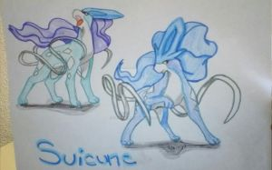 Pokemon Suicune by EclipseQuest2