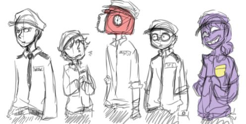 Rebornica's crew by MotherofOnity