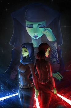 Barriss Offee - Luminara's guilt by Totemos