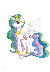 MLP - Princess Celestia by JaineTheInsane