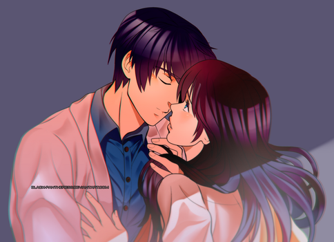 PP commission : Floyd x Haru by Black-pantheress