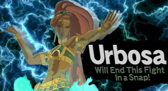 Urbosa SSBU request by Elemental-Aura