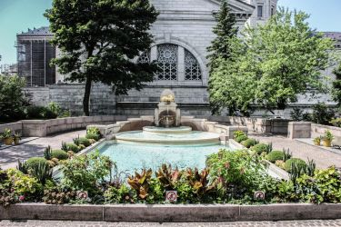 Gardens of Saint Joseph's Oratory by Kitteh-Pawz