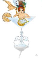 Mermaid's cocktail by Orin10