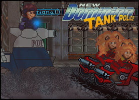 New Dominion Tank Police Title Card by penguintruth