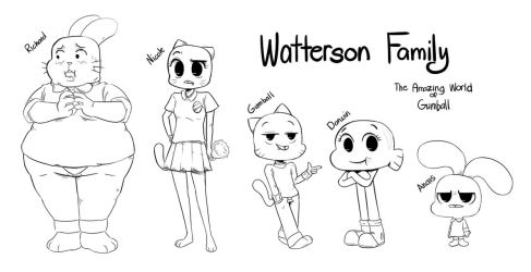 [TAWOG] The Watterson Family by Frank-Seven