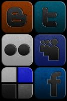 Social Network Icon Set by TheLudomancer