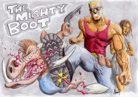 The Mighty Boot by Finfr0sk