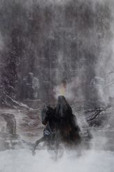 The foggy nazgul by ugiss